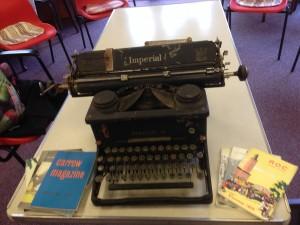 Eileen's typewriter